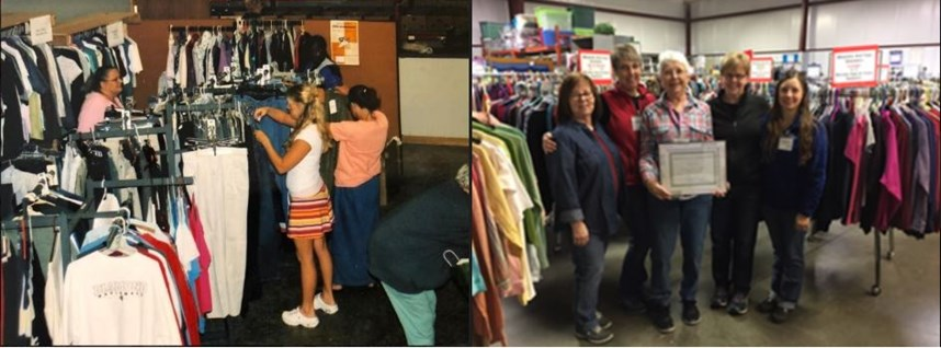 Creating Stability Then and Now: MOM's Clothing Center
